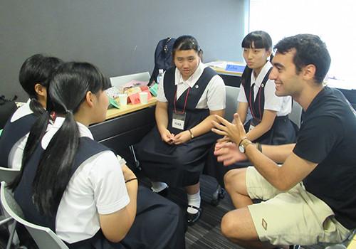 〈高1〉APU留学生との交流