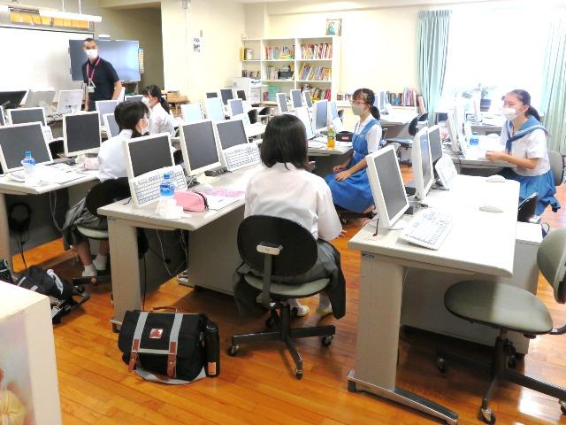 高校第1回体験入学会「Shin-ai体験Ⅰ」を開催しました