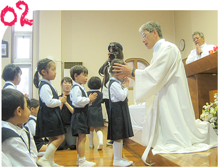 キリストの教えに根ざした教育